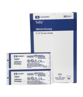 Telfa Dressing Pad With Adhesive Strip 7.5cmx5cm