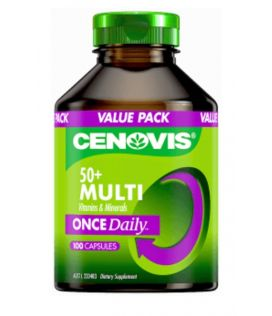 Cenovis Once Daily 50+ Multivitamins Capsules