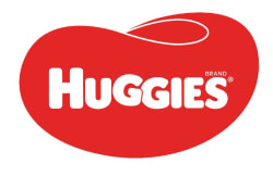 Huggies logo red